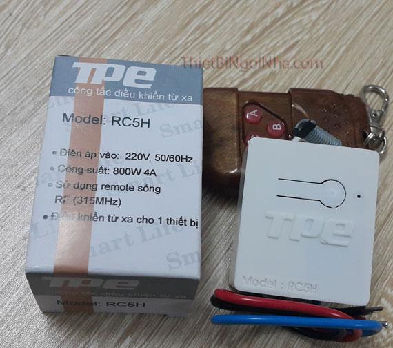 thiết bị ngôi nhà thiết bị điện thông minh http://thietbingoinha.com/ công tắc điều khiển từ xa rc5h remote rf 315hz