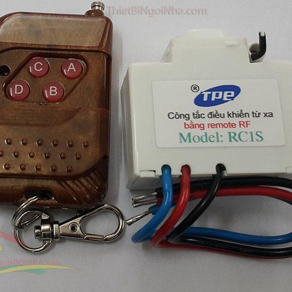 http://thietbingoinha.com/ cong tac dk tu xa rc1s - remote rf điều khiển xuyên tường thiết bị ngôi nhà thông minh Học lệnh tất cả các remote (điều khiển)