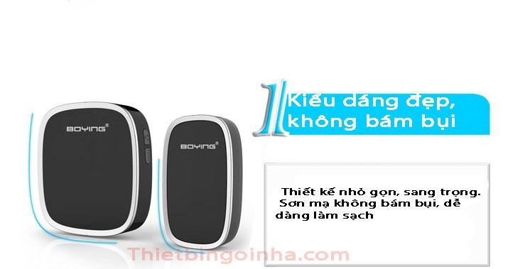 chuong cua khong day cao cap boying