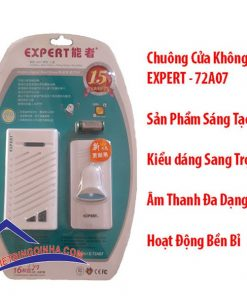 chuông cửa không dây expert 72a07