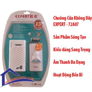 chuông cửa không dây expert 72a07