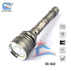 đèn pin siêu sáng smiling shark