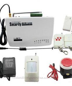 hệ thống báo động chống trộm từ xa qua điện thoại