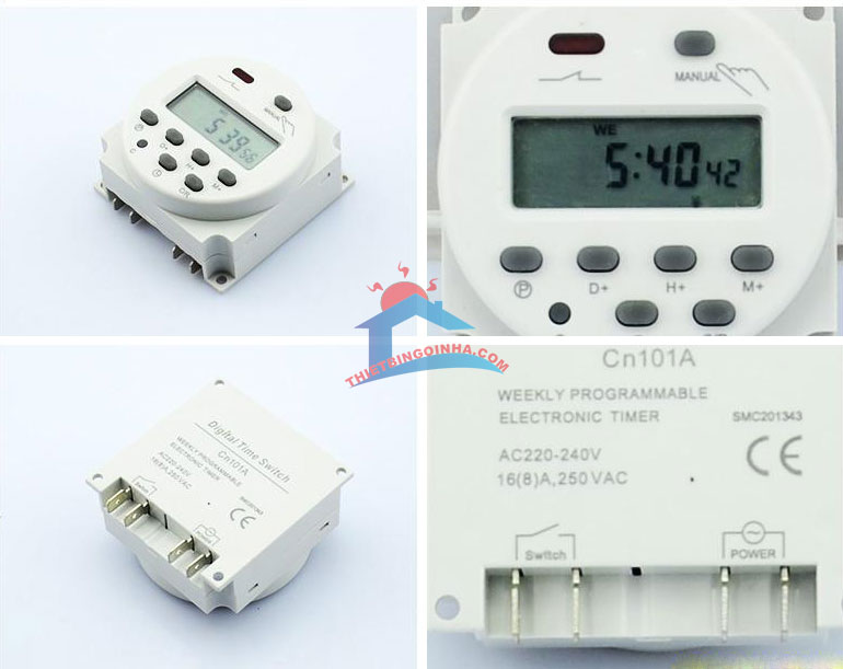 công tắc hẹn giờ  bật tắt thiết bị điện CN101A
