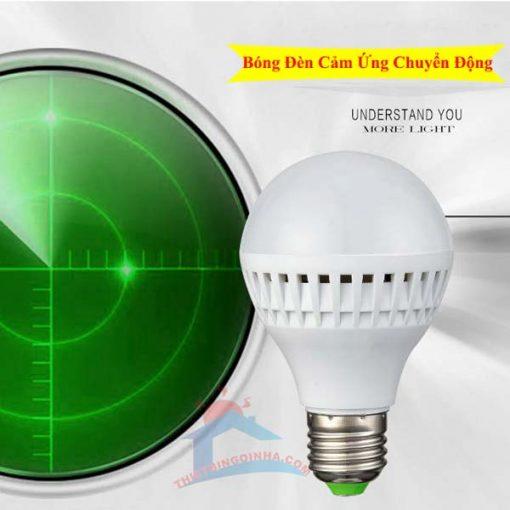 Đèn led cảm ứng chuyển động radar