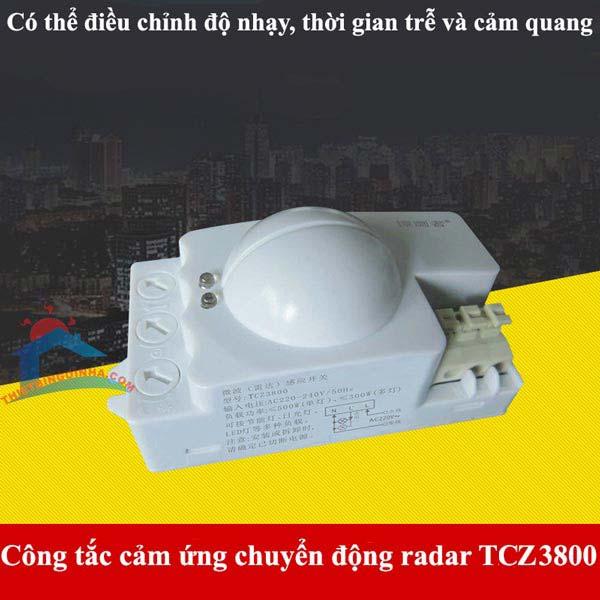 Công tắc cảm ứng chuyển độngTCZ3800