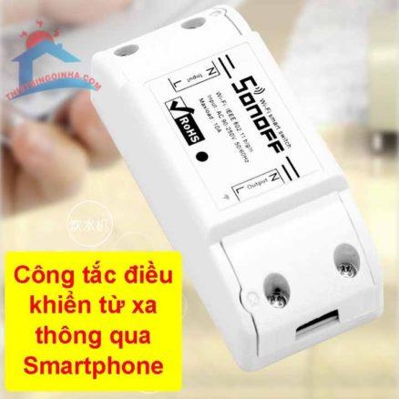công tắc điều khiển từ xa wifi sononoff