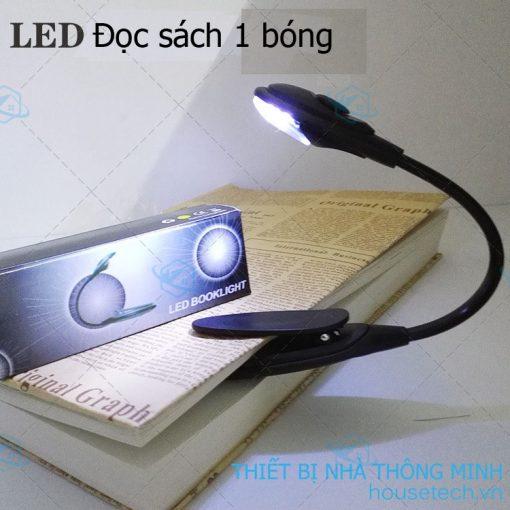 Đèn led đọc sách một bóng