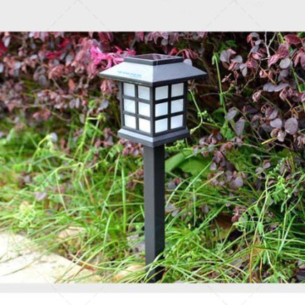 Đèn năng lượng mặt trời sân vườn hình chữ nhật