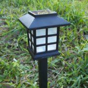 Đèn sân vườn năng lượng mặt trời chữ nhật ht01-023