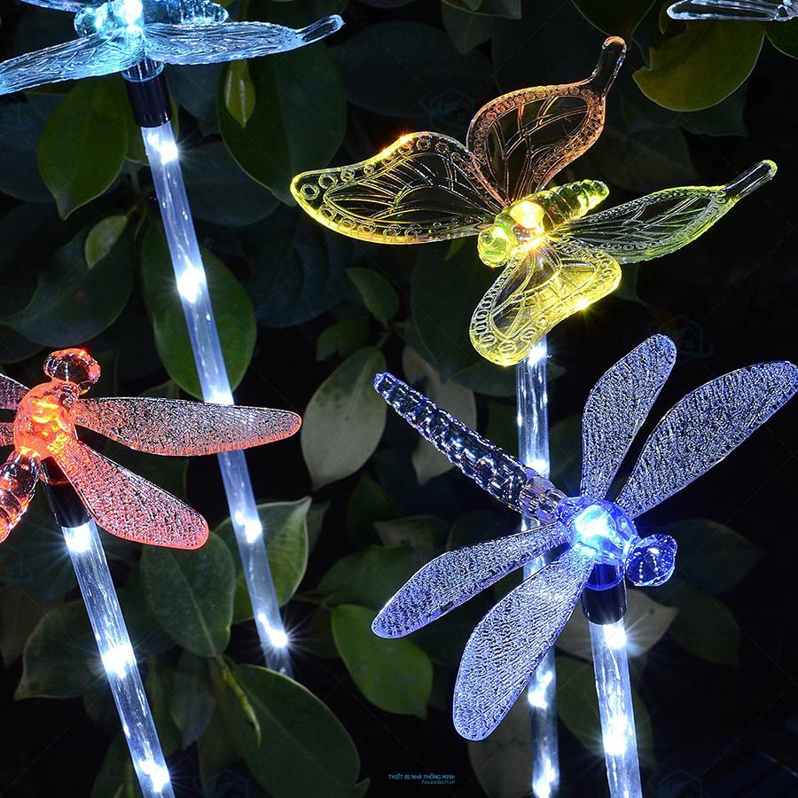 Đèn led trang trí ngoài trời hình bướm ở Đà Nẵng