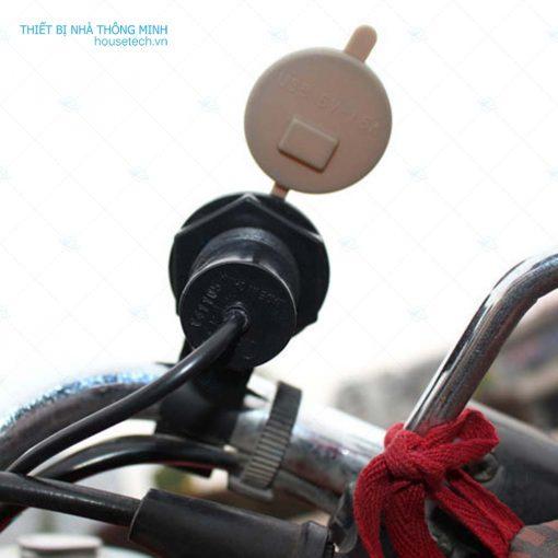 Bô sạc điện thoại cho xe máy ht238