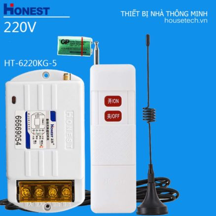 Công tắc điều khiển từ xa công suất lớn cho máy bơm Ht6220KG5