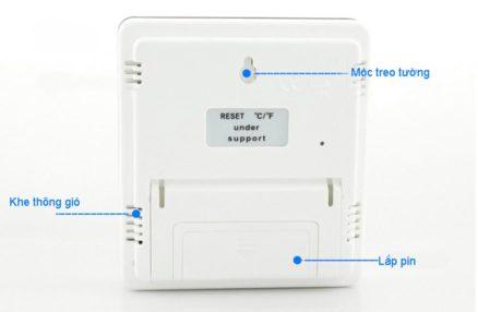 Đồng hồ đo nhiệt độ và độ ẩm trong phòng điện tử