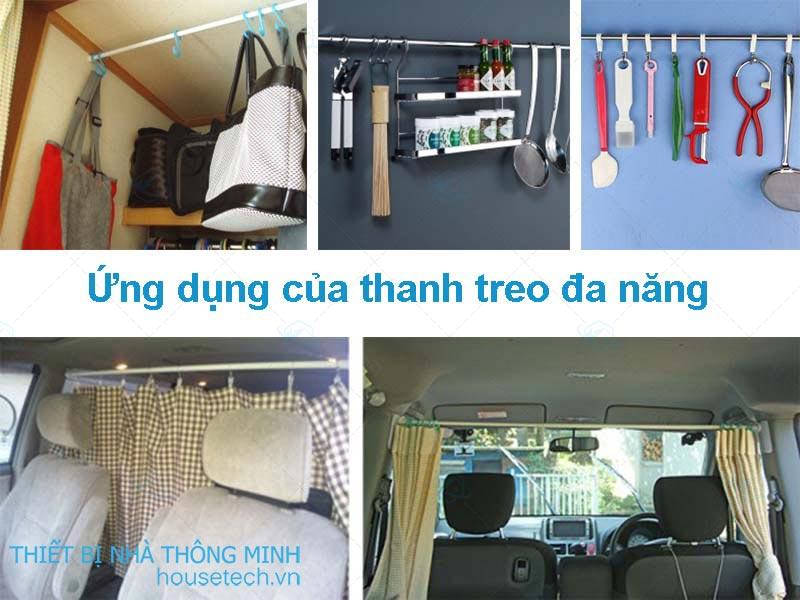 Thanh treo đa năng giá rẻ tại Hà Nội