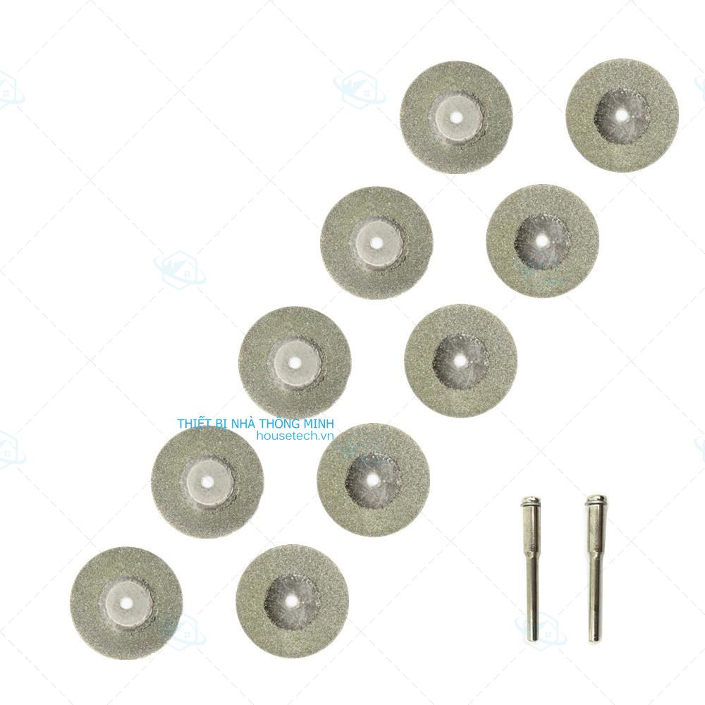 Bộ 10 lưỡi cắt mini phủ kim cương
