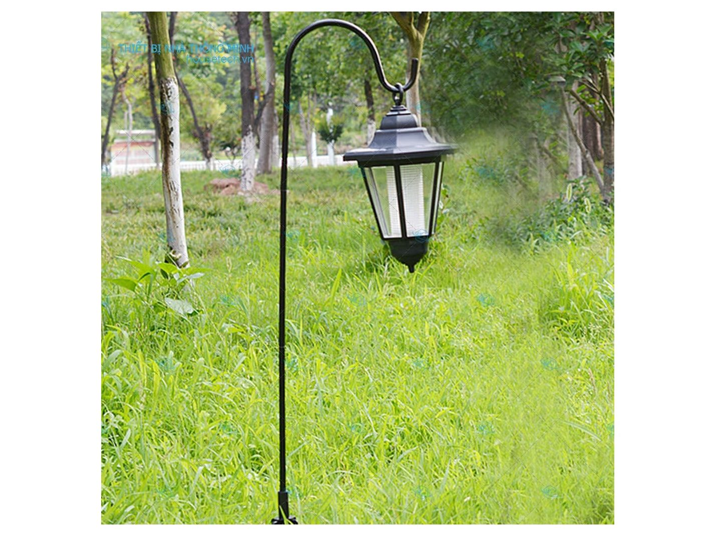 Đèn vườn năng lượng mặt trời giá rẻ Hà Nội