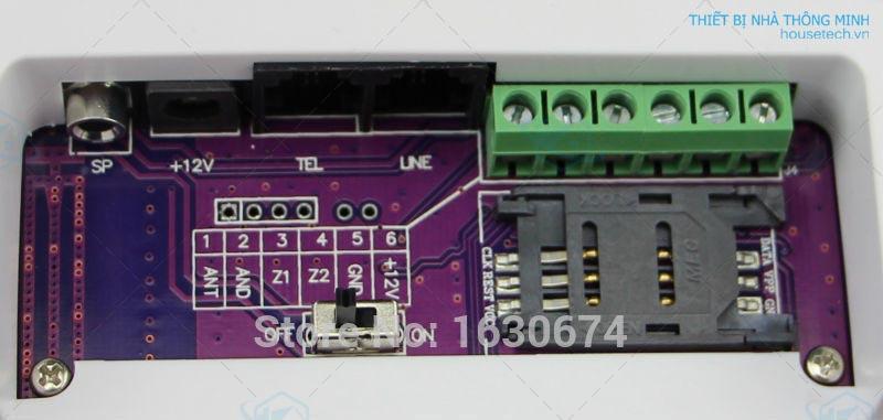 Hệ thống báo động trung tâm GSM báo cháy