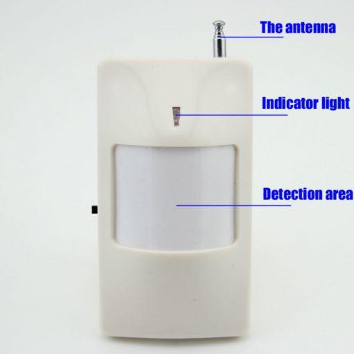 Hệ thống báo động trung tâm GSM báo chuyển động