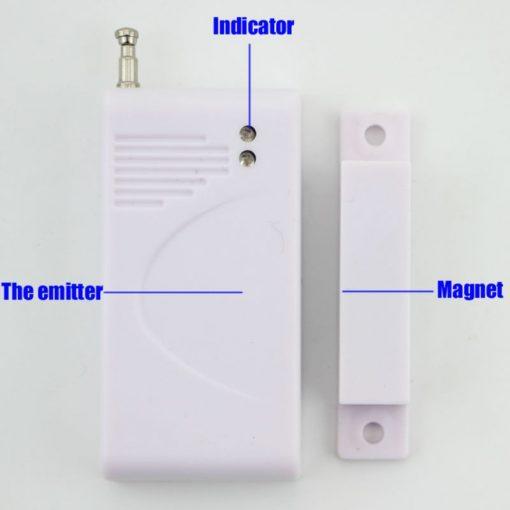 Hệ thống báo động trung tâm GSM báo cửa mở