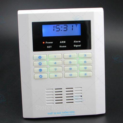 Hệ thống báo động trung tâm GSM báo hở gas