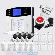 Hệ thống báo động trung tâm GSM tại Hà Nội