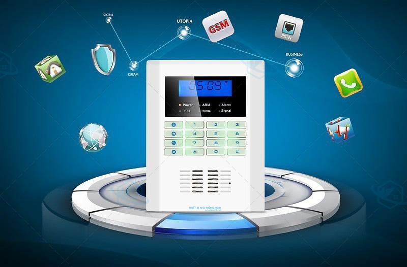 Hệ thống báo động trung tâm GSM cao cấp