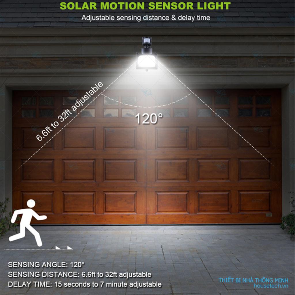 Đèn led siêu sáng sử dụng NLMT cảm biến chuyển động hồng ngoại HT406 an toàn