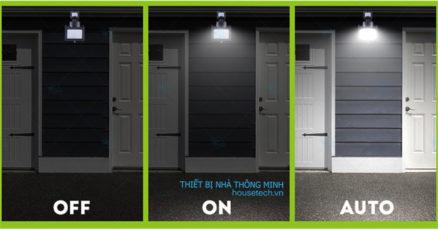 Đèn led siêu sáng sử dụng NLMT cảm biến chuyển động hồng ngoại HT406 tự động
