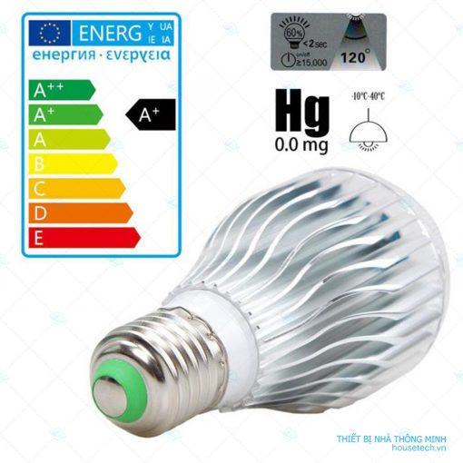 Đèn led đổi màu điều khiển từ xa 10WRGB chất lượng