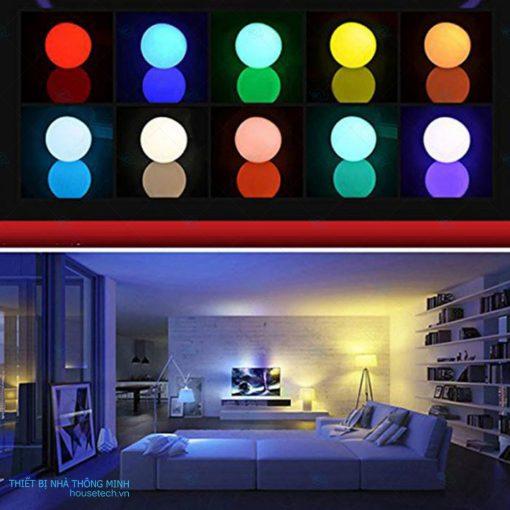 Đèn led đổi màu điều khiển từ xa 10WRGB cao cấp