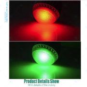 Đèn đổi màu điều khiển từ xa 5WRGB chất lượng