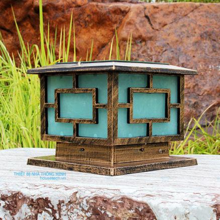 Đèn trụ cổng NLMT chống nước chất lượng