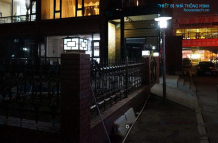 Đèn trụ cổng chống nước năng lượng mặt trời chất lượng