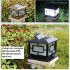 Đèn trụ cổng chống nước năng lượng mặt trời cao cấp chất lượng