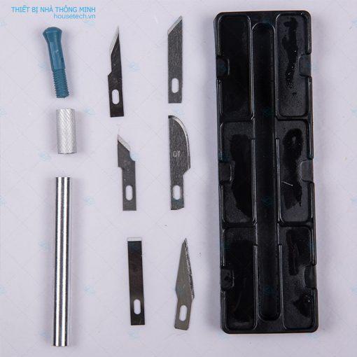 Bộ lưỡi dao khắc bút chì nghệ thuật 7 chi tiết tại Hồ Chí Minh