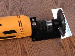 Dụng cụ chuyển máy khoan thành máy cắt