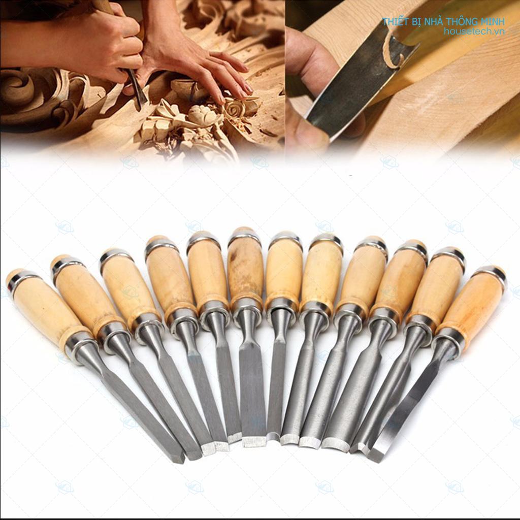 Bộ dung cụ đục gỗ mỹ nghệ cao cấp