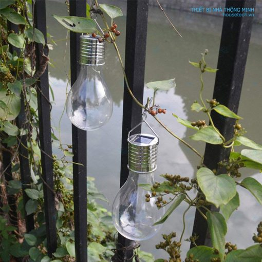 Đèn gắn hàng rào hình bóng đèn