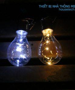 Đèn treo cây trang trí năng lượng mặt trời gái rẻ