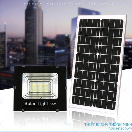 Đèn chiếu sáng 120W năng lượng mặt trời