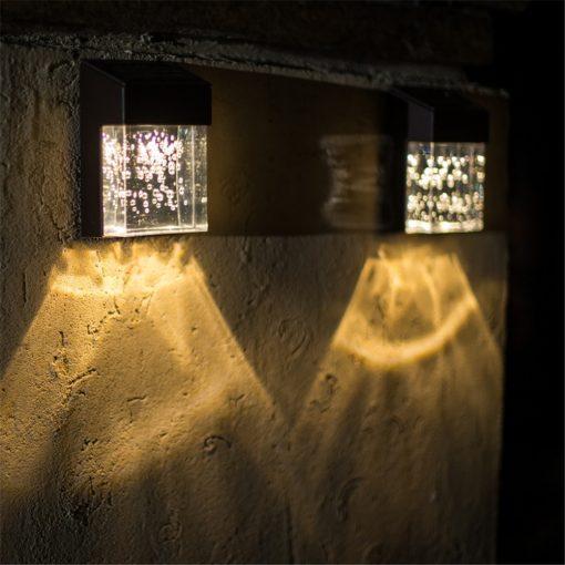 Đèn ốp tường năng lượng mặt trời cao cấp