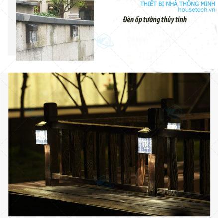 Đèn trang trí hàng rào năng lượng mặt trời