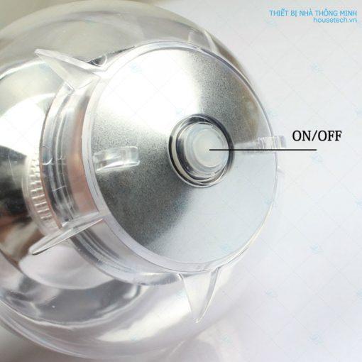 Công tắc đèn trang trí năng lượng mặt trời hình quả cầu