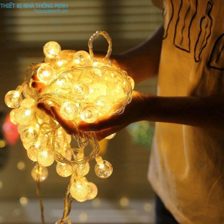 Dây đèn hình bong bóng đẹp