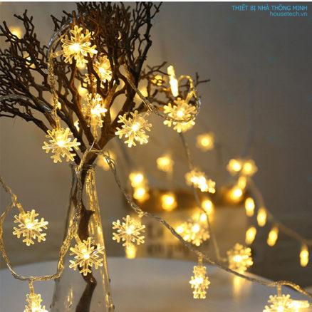 Dây đèn hình hoa tuyết đẹp
