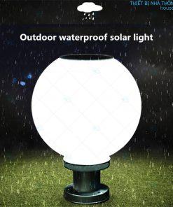 Đèn năng lượng mặt trời hình quả cầu