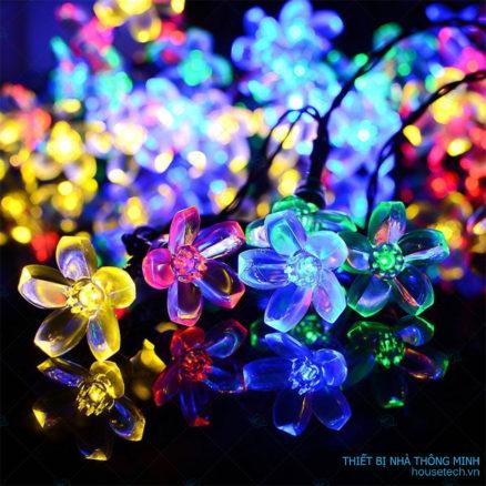 Dây đèn trang trí hình hoa anh đào