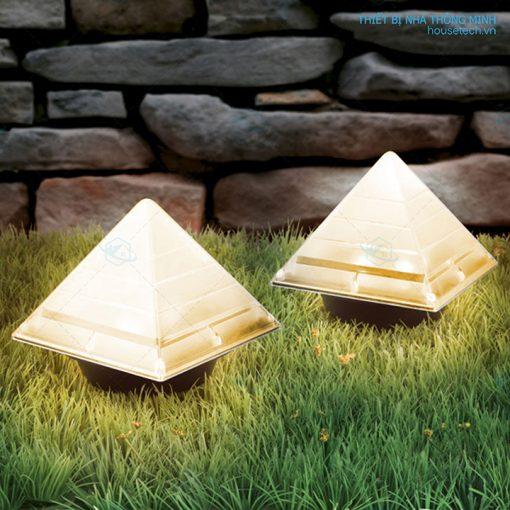 Đèn kim tự tháp năng lượng mặt trời giá rẻ
