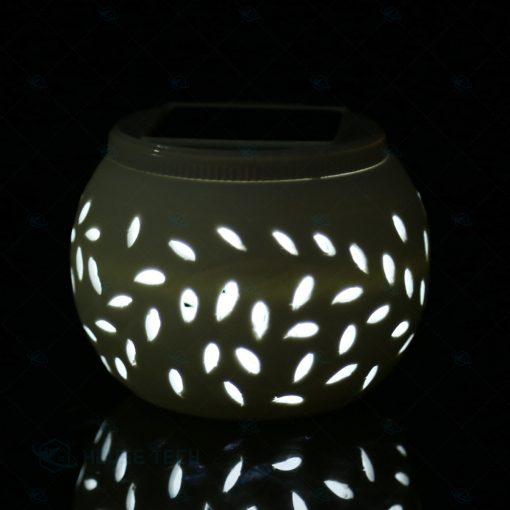 Đèn năng lượng mặt trời bằng gốm sứ